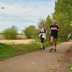 46. jooks ümber Harku järve - Nele Jõhvik (136), Valeri Zarikov (634)