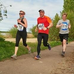 46. jooks ümber Harku järve - Elis Haan (78), Magnus Kvell (270), Enar Pehk (465)