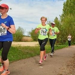 46. jooks ümber Harku järve - Gerli Piik (480), Linda Vooremäe (768)