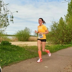 46. jooks ümber Harku järve - Marleen Musthallik (390)