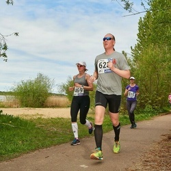 46. jooks ümber Harku järve - Katrin Peterson (469), Lars Sumberg (623)