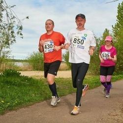 46. jooks ümber Harku järve - Rainer Orav (430), Eve Relvik (535), Andrus Kolks (850)