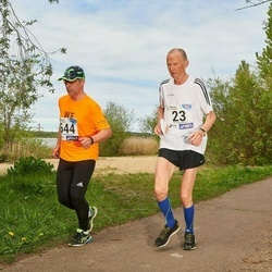 46. jooks ümber Harku järve - Andres Alajaan (23), Janek Tass (644)