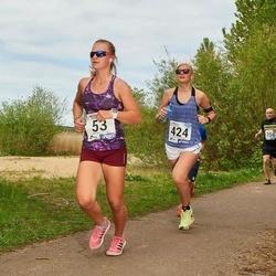 46. jooks ümber Harku järve - Irena Budanova (53), Maria Oja (424)
