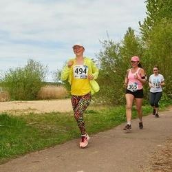46. jooks ümber Harku järve - Jelena Mets (365), Margarita Polokainen (494)