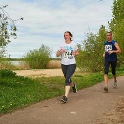 46. jooks ümber Harku järve - Kristina Verbitskaja (744), Maksim Pekarski (849)
