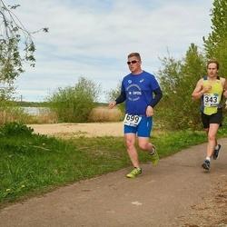 46. jooks ümber Harku järve - Madis Malv (343), Remo Tänav (699)