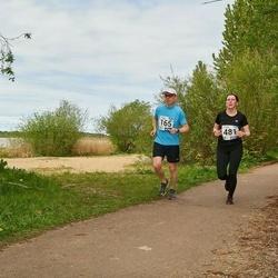 46. jooks ümber Harku järve - Marko Kallaspoolik (165), Piret Piip (481)