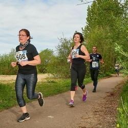 46. jooks ümber Harku järve - Eve Skoglund (608), Kaily Kalde (856)