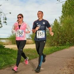 46. jooks ümber Harku järve - Anu Kahar (150), Kaido Kahar (151)