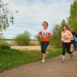 46. jooks ümber Harku järve - Maarika Kelder (192), Johanna Lepp (304)