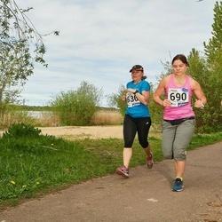 46. jooks ümber Harku järve - Maarja Žugova (636), Ruth Trääder (690)