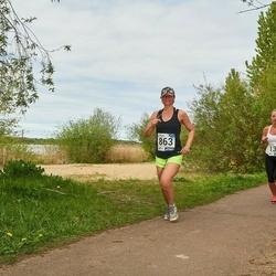 46. jooks ümber Harku järve - Kairiin Jõemets (131), Sirle Lilleoja (863)