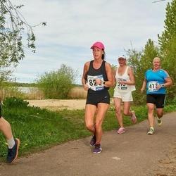 46. jooks ümber Harku järve - Ursula Noorväli (417), Eini Eskla (820)