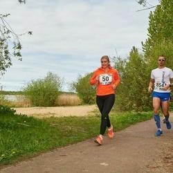 46. jooks ümber Harku järve - Maarika Bent (50), Rait Rebane (854)