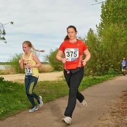 46. jooks ümber Harku järve - Monika Michelson (375), Johanna Vahtra (712)