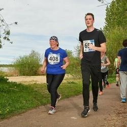 46. jooks ümber Harku järve - Marika Müür (408)