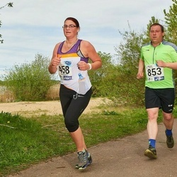 46. jooks ümber Harku järve - Kristi Parts (458), Silver Sepp (853)