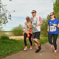 46. jooks ümber Harku järve - Katrin Saarleht (574), Magnus Salumaa (580), Hanna-Katre Tordik (678)