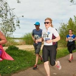 46. jooks ümber Harku järve - Ülle Metsman (374)