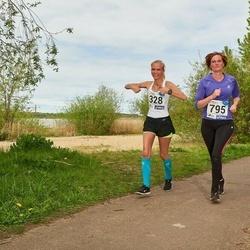 46. jooks ümber Harku järve - Airi Lukina (328), Eveli Haidla (795)