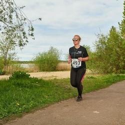 46. jooks ümber Harku järve - Ursula Polman (493)