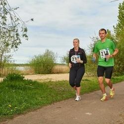 46. jooks ümber Harku järve - Katri Klaan (217), Margus Klaan (218)