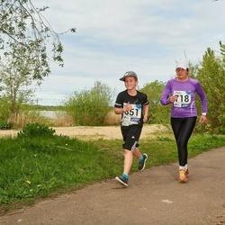 46. jooks ümber Harku järve - Evi Vaino (718), Henri Vaino (851)
