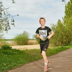 46. jooks ümber Harku järve - Ragnar Puio (504)