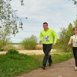 46. jooks ümber Harku järve - Anne Küüsmaa (278), Andris Verro (745)