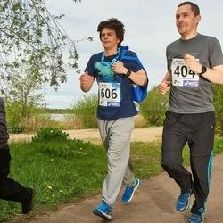 46. jooks ümber Harku järve - Martin Mäng (404), Mauri Sinimägi (606), Gregor Le Page (827)
