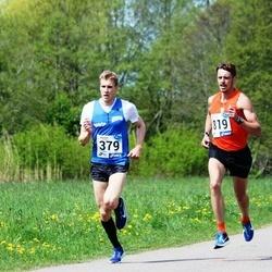 46. jooks ümber Harku järve - Raido Mitt (379), Argo Jõesoo (819)