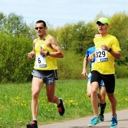 46. jooks ümber Harku järve - Tarmo Reitsnik (6), Mardo Lundver (329)