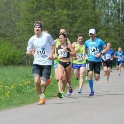 46. jooks ümber Harku järve - Indrek Mumm (384), Andry Soo (610)