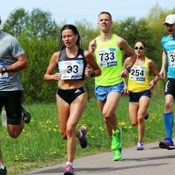 46. jooks ümber Harku järve - Olga Andrejeva (33), Indrek Mumm (384), Kristjan Vares (733)