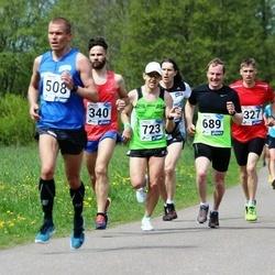 46. jooks ümber Harku järve - Marek Truumaa (689), Lauri Valdmaa (723)