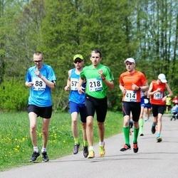 46. jooks ümber Harku järve - Oskar Helde (88), Margus Klaan (218), Allar Ninn (414)