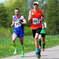 46. jooks ümber Harku järve - Eero Mõttus (393), Mihkel Trees (683)