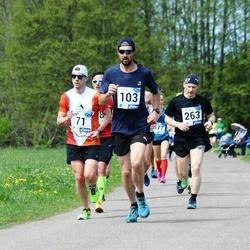 46. jooks ümber Harku järve - Oleg Ignatjev (103), Madis Kuznetsov (263)