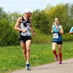 46. jooks ümber Harku järve - Reemet Küünruss (277), Katrina Stepanova (617)