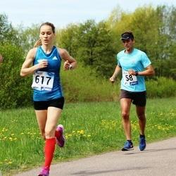46. jooks ümber Harku järve - Silver Eensaar (58), Katrina Stepanova (617)