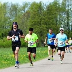 46. jooks ümber Harku järve - Mait Arvi (41), Margus Tähepõld (698)