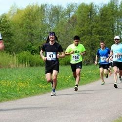 46. jooks ümber Harku järve - Mait Arvi (41), Rodolfo Perez (466)