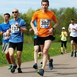 46. jooks ümber Harku järve - Urmet Jänes (137), Kristjan Muld (380)