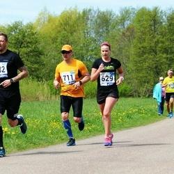 46. jooks ümber Harku järve - Silva Suvi (629), Janek Vahtra (711)