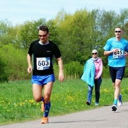 46. jooks ümber Harku järve - Mart Sillaots (603)