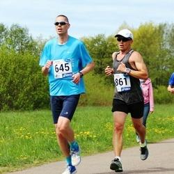 46. jooks ümber Harku järve - Kaspar Teder (645), Eero Kookla (861)