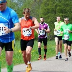 46. jooks ümber Harku järve - Illar Kukk (253), Aimar Liiver (313)