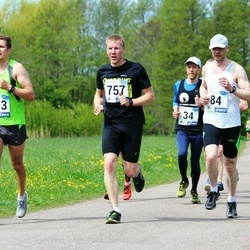 46. jooks ümber Harku järve - Paavo Heil (84), Tarmo Villum (757)