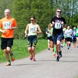 46. jooks ümber Harku järve - Martin Aarne (11), Laur Saar (570)